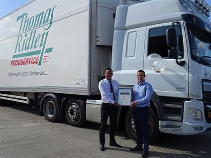Thomas Ridley join Freight Transport Association as their 18,000th member!