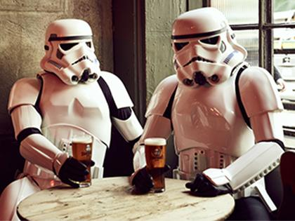 Taste the Galaxy with New 'The Original Stormtrooper' Beers