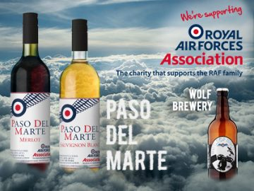 Let's raise our glass and support the RAF Association