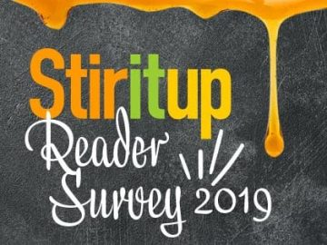 Stir It Up Readers Survey 2019