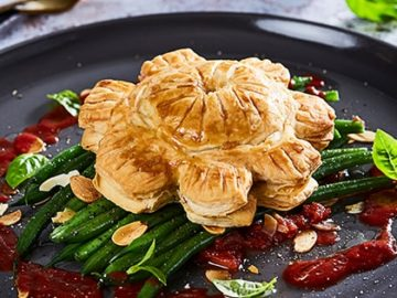 Mushroom and Almond Pithivier